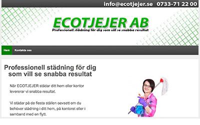 Köpa hemsida Ecotjejor